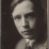 Portrait photograph of David Garnett, signed and dated March 15, 1923
