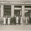 Staff of the Dunbar National Bank, Harlem, New York City, circa 1930.