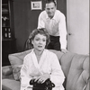 Martha Scott and Ralph Meeker in the stage production Cloud 7
