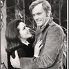 Gale Dixon and David Holliday in the stage production Coco