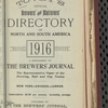 Tovey's official brewers' and maltsters' directory of the United States and Canada, 1916