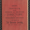 Tovey's official brewers' and maltsters' directory of the United States and Canada, 1899