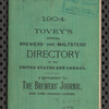 Tovey's official brewers' and maltsters' directory of the United States and Canada, 1904