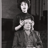 Carol Lawrence and Neville Brand in rehearsal for the stage production Night Life