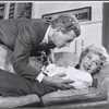 Joseph Cotten and Arlene Francis in rehearsal for the stage production of Once More, With Feeling