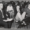 George Rose, Katharine Hepburn and company in rehearsal for the stage production Coco