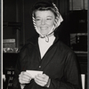 Katherine Hepburn in rehearsal for the stage production Coco