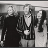 Lauren Bacall, Len Cariou, and Diane McAfee in rehearsal for the stage production Applause