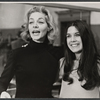 Lauren Bacall and Diane McAfee during rehearsals for the stage production Applause.