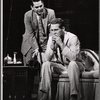 Logan Ramsey and Paul Newman in the stage production Sweet Bird of Youth
