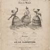 Trois airs de ballet: No. 1. El zapateado. No. 2. La cracovienne. No. 3. La cachucha