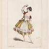 Melle Caroline Lassiat, dans La fille de marbre: Academie Royale de Musique. [Lithograph by Alexandre Lacauchie] Imp. Decan et Lebref.