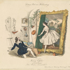 "Fanny Elssler in dem Divertissement: ""Des Malers Traumbild"""