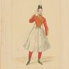 Costume de Melle Fanny Essler [sic], rôle de La gipsy, dans la piece de ce nom. Ballet. Academie Royale de Musique. 3e costume (La cracovienne).