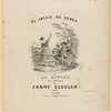 El jaleo de Xeres or La gitana as danced by Fanny Elssler. Lith. of G. W. Lewis, 136 Nassau St.