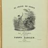 El jaleo de Xeres or La gitana as danced by Fanny Elssler