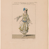 Costume de Melle. Duvernay, rôle de Miranda, dans La tentation, acte IV.