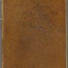 "Notebook 4: (""D""). ""A Note Book Containing a few smooth pebbles and pearly shells which the waves of thought leave, from time to time upon my shores. Dec. 3d 1859"""
