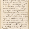 "Notebook 9: (""F""). ""Note Book  John Burroughs  Treasury Dept Washington DC  Feb. 27 1865."" ""In the Hemlocks"""
