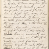 "Notebook 9: (""F""). ""Note Book  John Burroughs  Treasury Dept Washington DC  Feb. 27 1865."" ""In the Hemlocks""."