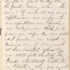 "Notebook 12: (""I""). ""John Burroughs 377 First St East Washington DC  Mar. 1st 1866"""