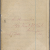 "Notebook 7: (""J""). ""John Burroughs  No 377 First St East  Washington DC Mar. 8, 1866."" Chapters on ""Beauty"" and ""The Earth""."