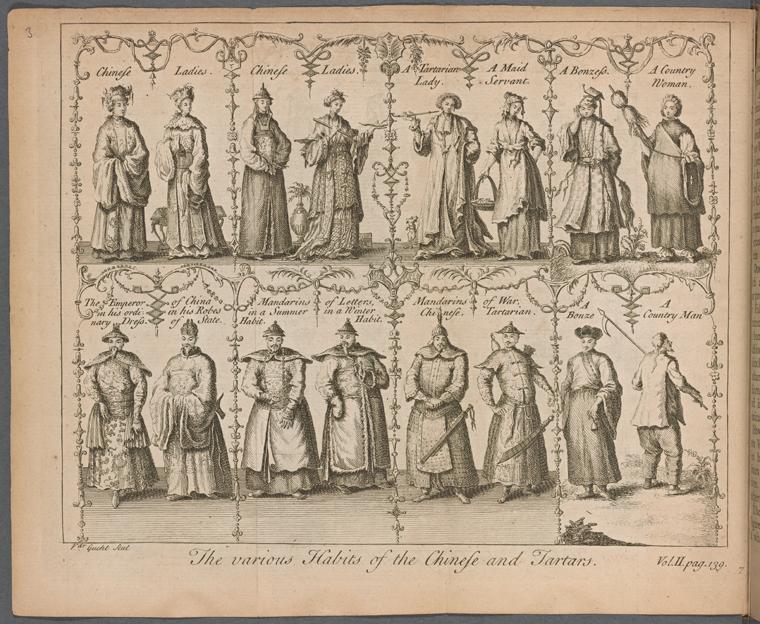 Fascinating Historical Picture of Gerard Van der Gucht in 1741