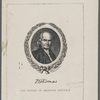 P.E. Thomas [signature]. The father of American railways