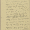 "Burroughs, John, ""The poet of the cosmos,"" part of holograph MS, signed and dated, Nov. 15-16, 1915."