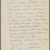 Burroughs, John, Lecture on Walt Whitman, holograph MS, unsigned.