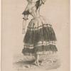 Mlle. Fanny Elssler in La cachucha.