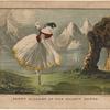 Fanny Ellsler [sic] in The shadow dance