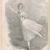 La sylphide, 2d edition as danced by Madlle Fanny Elssler