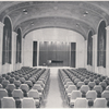 Interior of Judson Hall as printed on promotional brochure.