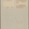 Two photographs of SLC walking in snow at Stormfield, Redding, CT, 1908.
