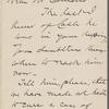 Fairchild, Charles, ALS to SLC. Feb. 26, 1884.