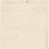 Pond, [Major James Burton], ALS to. Jul. 28, 1884.