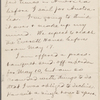 Pond, [Major James Burton], ALS to. May 1, 1895.