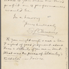 Pond, [Major James Burton], ALS to. May 24, 1895.