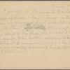 Pond, [Major James Burton], postcard to. Jun. 9, [1895] (postscript to ALS for same date).