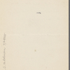 Pond, [Major James Burton], ALS to. Jun. 13, 1895.