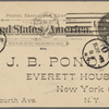 Pond, [Major James Burton], APCS to. Jun. 21, 1895.