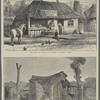 The shop of Castro the butcher at Wagga Wagga.  Hut in which The Claimant is said to have lived at Wagga Wagga.