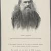 Léon Tolstoï. (Cette gravure, comme tous led portraits, se trouve en hors texte dans l'ouvrage)