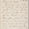 Conway, Moncure Daniel, ALS to [Andrew] Chatto. Dec. 15, 1880.