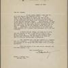 Doubleday, F. N., TLS to SLC. Jan. 21, 1909.