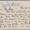 Lyon, Isabel V., ALS to W. T. H. Howe. Jul. 24, 1933.
