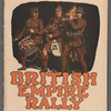 Program booklet for British Empire Rally