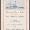 Program booklet for Christmas-Cheer Rally