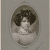 Portrait of singer and dancer Aida Overton Walker, circa 1900s.